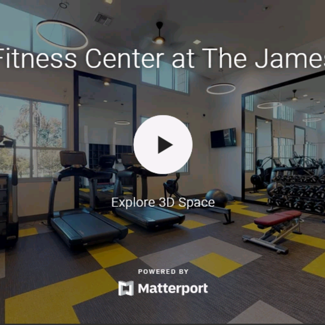 The James Apartments  - State of the Art Fitness Center